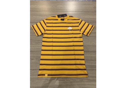 Hélas Helas - Stripy Umbrella Tee Yellow