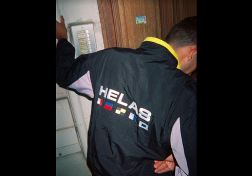 Hélas Helas Nautique Tracksuit Jacket Black