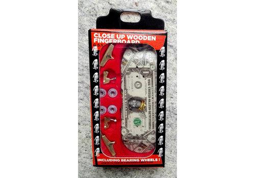 Close-Up Fingerboard Dollar