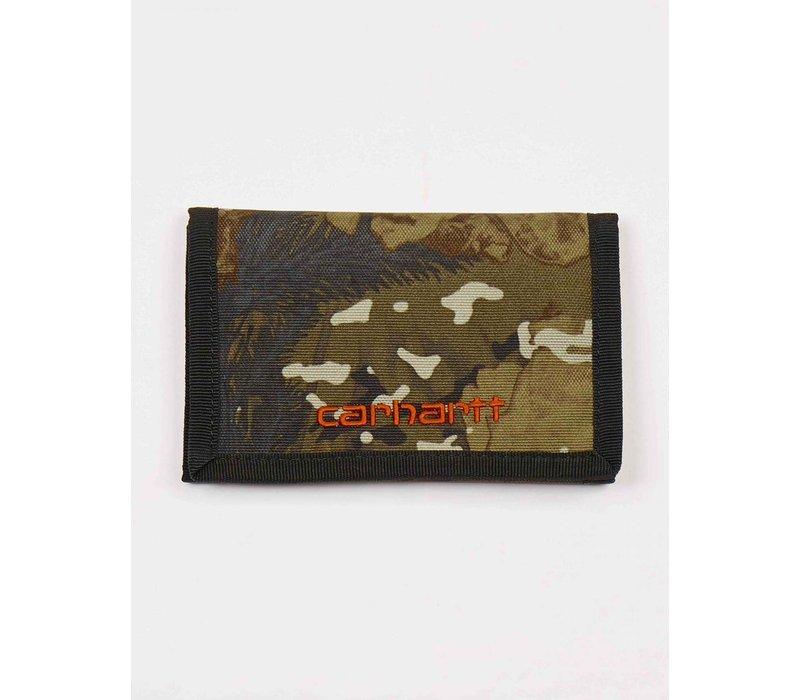 Carhartt Payton Wallet Camo Combi / Safety Orange