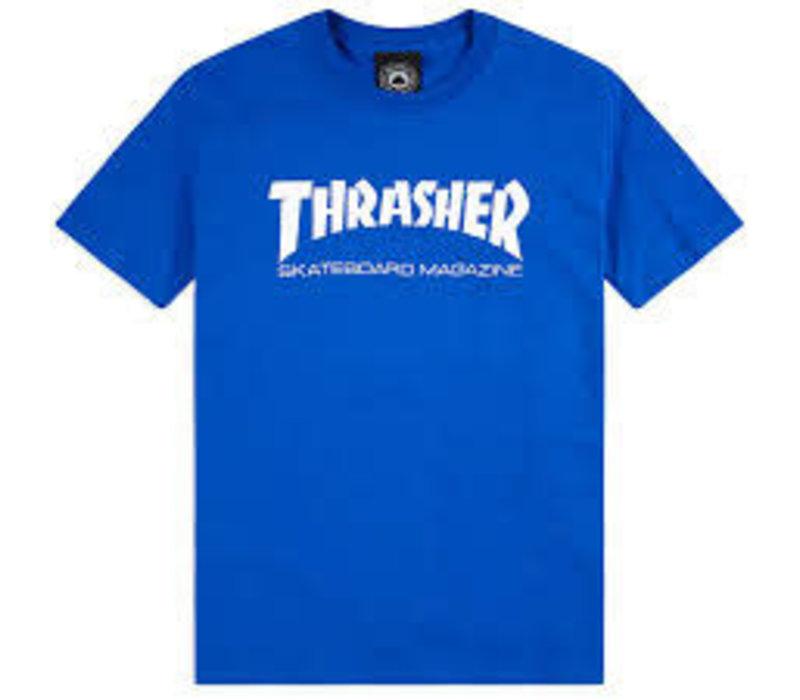Thrasher Skate Mag Tee Royal Blue