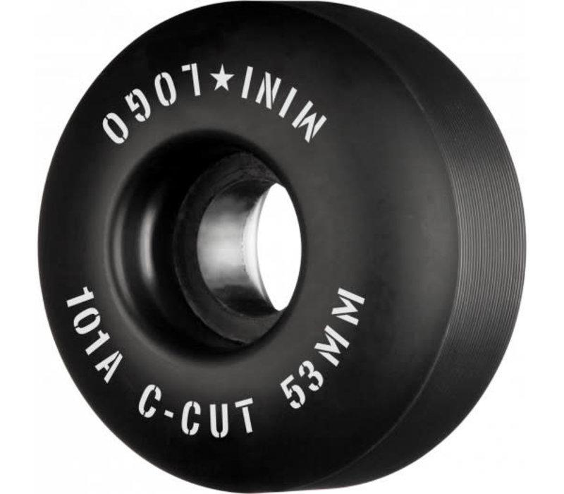 Mini Logo C-Cut 53mm 101a Wheels Black