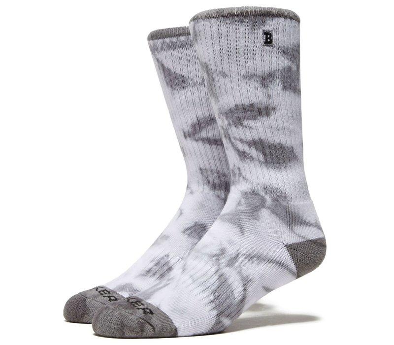 Baker Socks Capital B Grey Tie-Dye