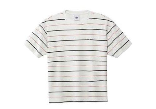 Adidas Adidas Velour Jersey White/Navy