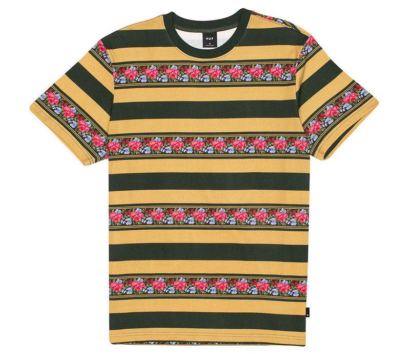 Huf Monarch Stripe Knit Top Camel