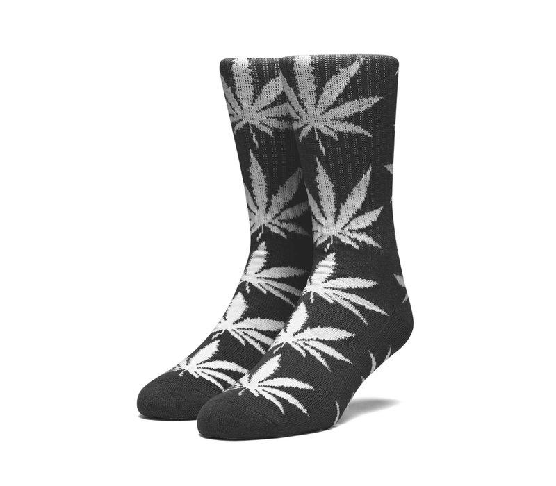 Huf Glow Plantlife Sock Black