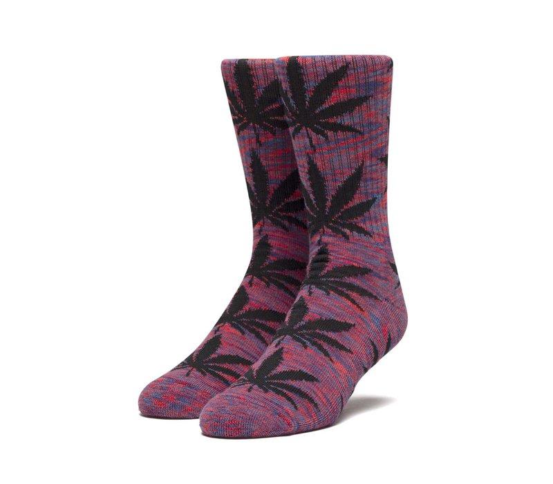 Huf Plantlife Melange Leaves Sock Cyber Red