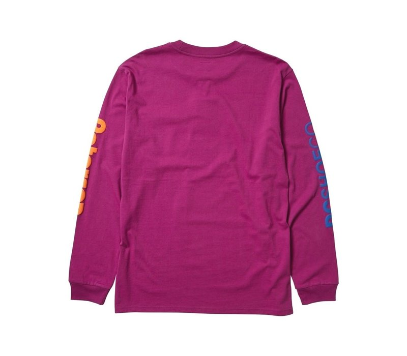 DC x Paterson Tech LongSleeve Purple Wine