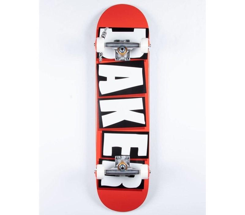 Baker Brand Logo White Complete 8.0