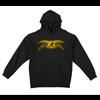Anti Hero Anti Hero Eagle Hoodie Black Yellow