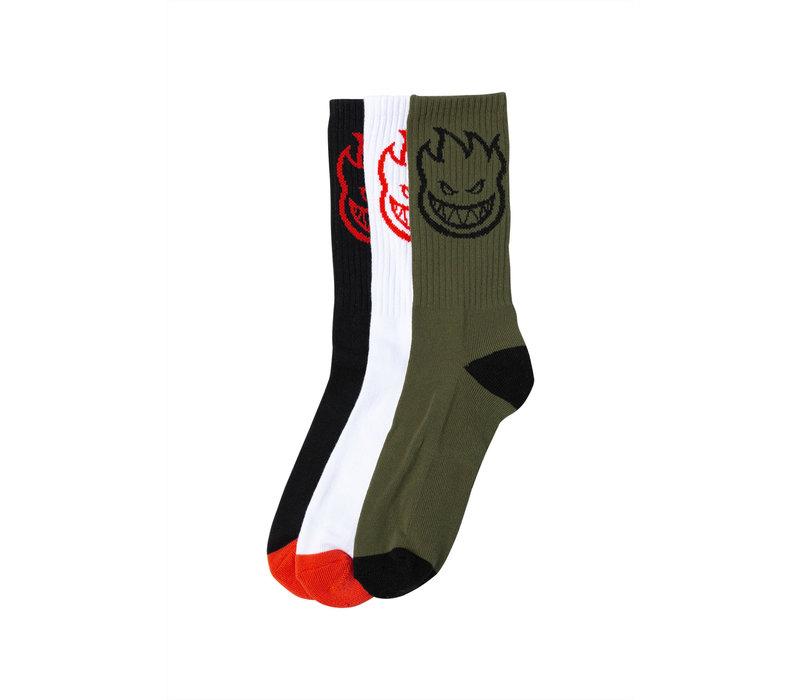 Spitfire Sock Bighead Three Pack