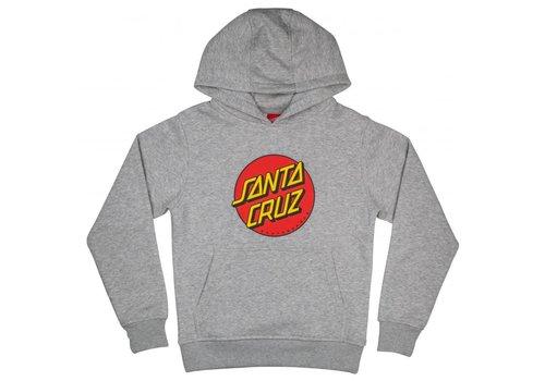Santa Cruz Santa Cruz Youth Classic Dot Hood Heather Grey