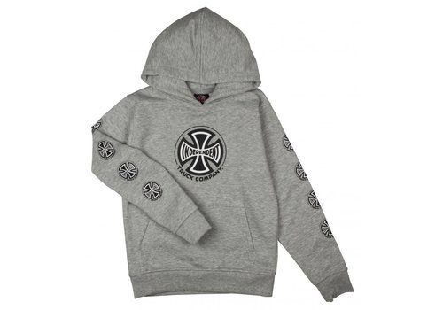 Independent Independent Youth Truck Co Sleeve Hood Heather Grey