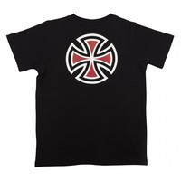Independent Youth Bar Cross Tee Black