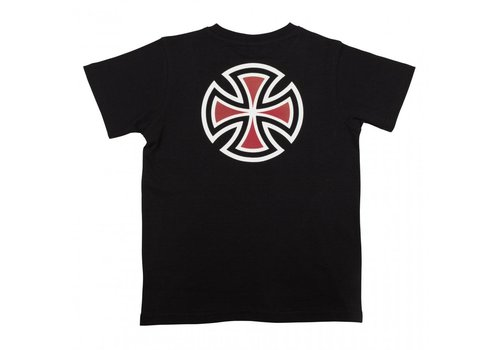 Independent Independent Youth Bar Cross Tee Black