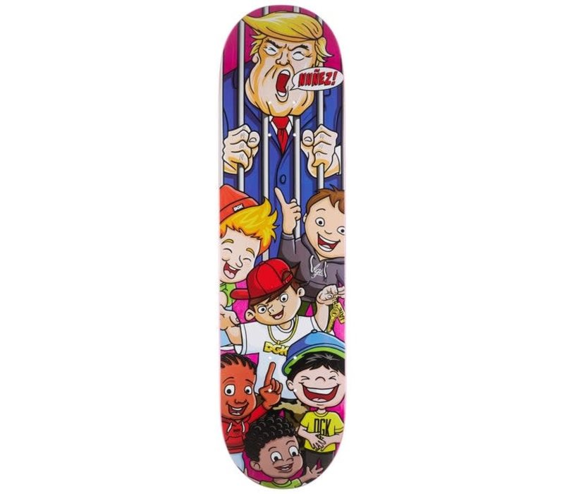 DGK Deck Vote Now Nunez 8.25