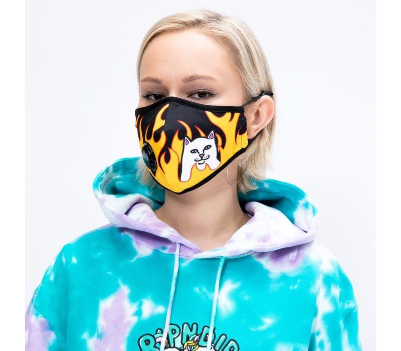 Ripndip Welcome To Heck Ventilated Face Mask