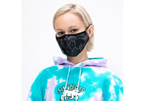 Ripndip Ripndip Blackout Camo Ventilated Face Mask