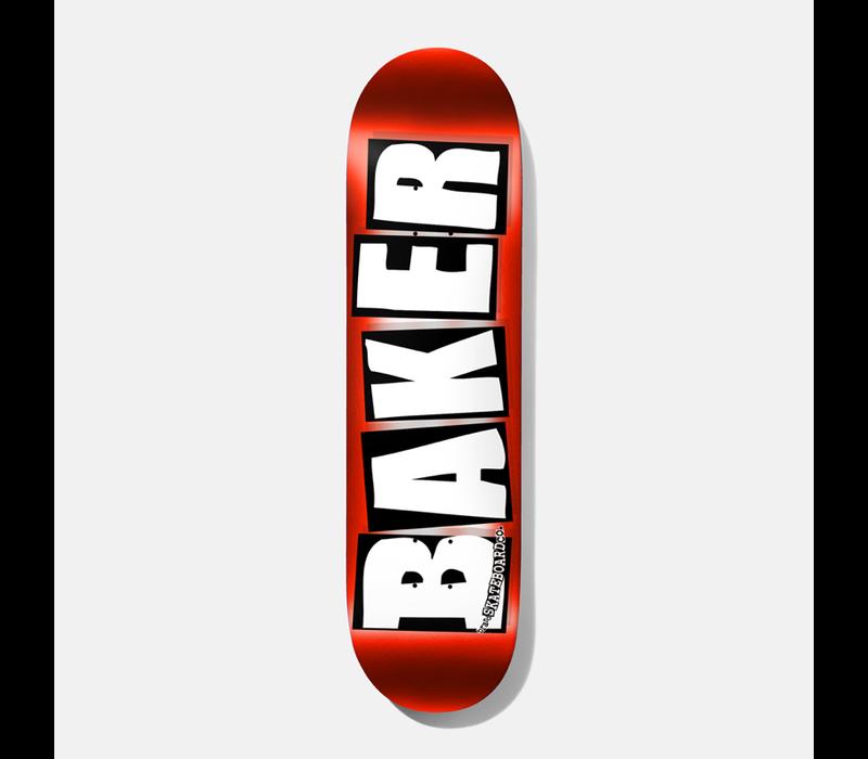 Baker - Brand Logo Red Foil 8.25