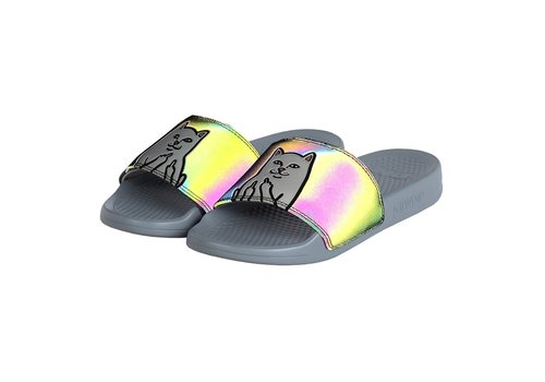 Ripndip RipNDip Nermal Slides Iridescent Black