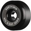 Powell Peralta Mini Logo A-Cut 55mm 90a Wheels Black (Soft)