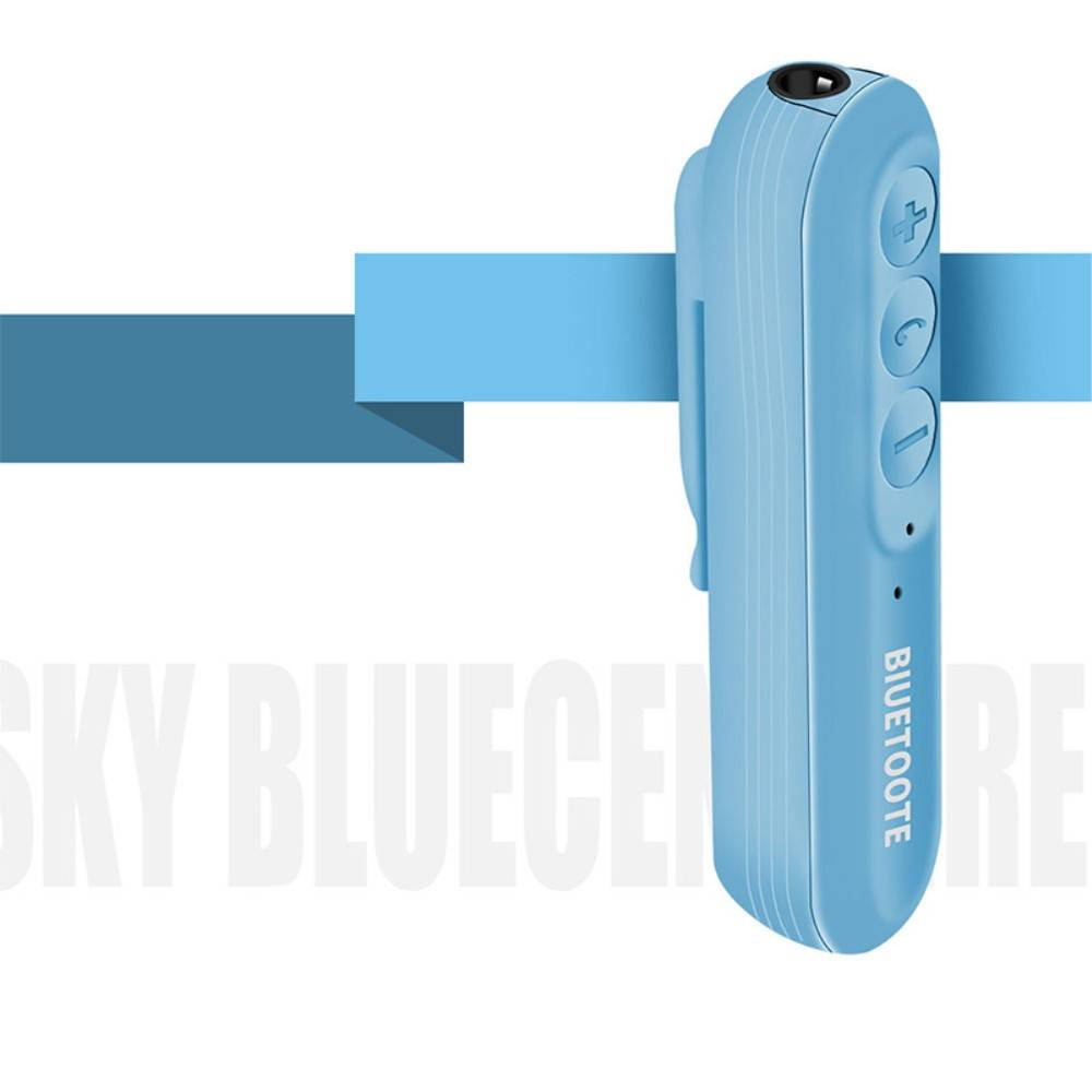 Clip-on Bluetooth Receiver + Remote Shutter - Blauw