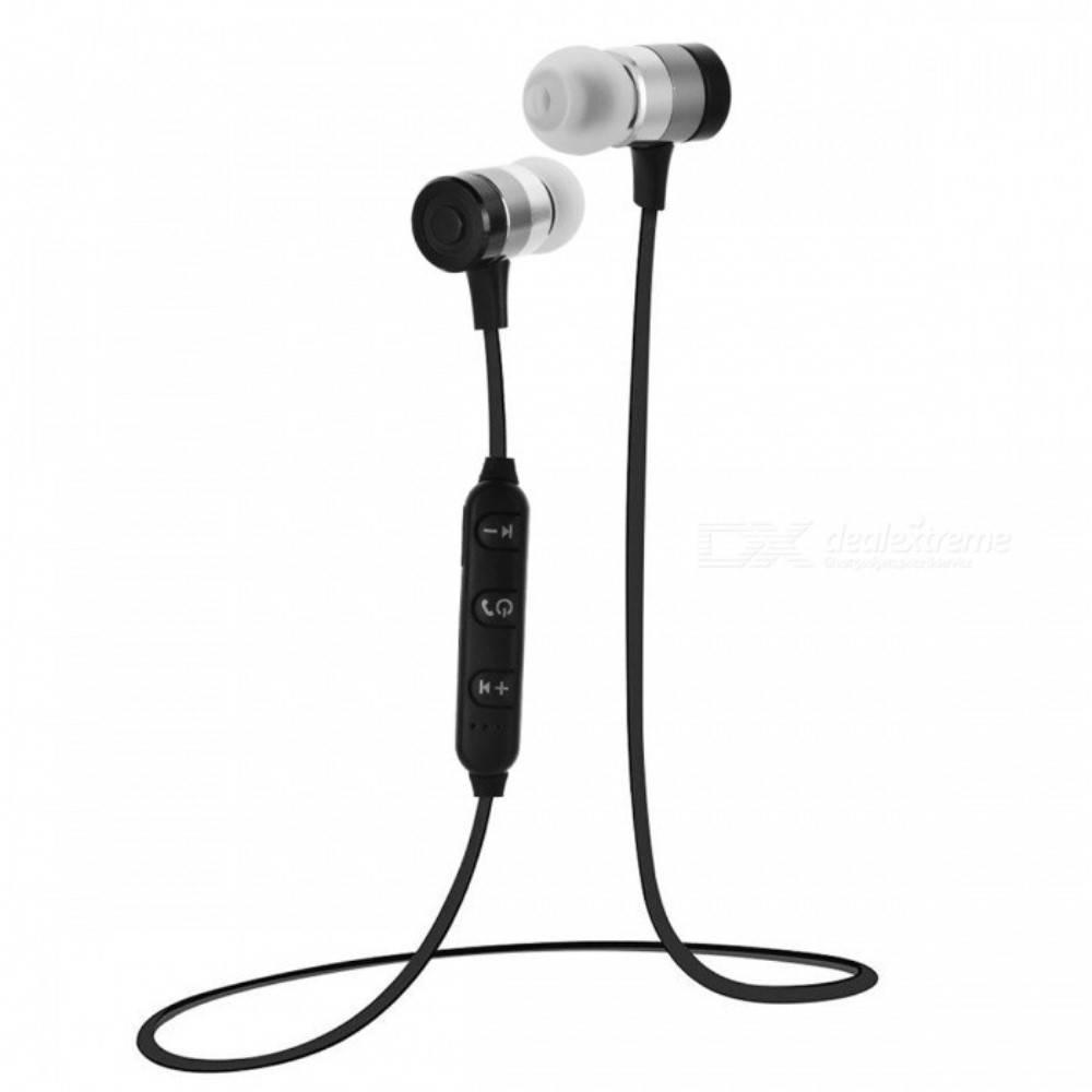 7256 Lichtgewicht Sport Bluetooth 4.0 In-ear Headphones - Zwart