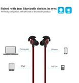 BHT-816 Sport Bluetooth V4.1 In-ear Oordopjes - Rood