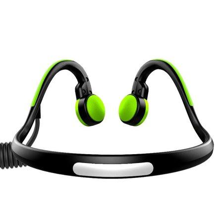 Waterproof Bone Conduction Bluetooth Oortjes - Groen