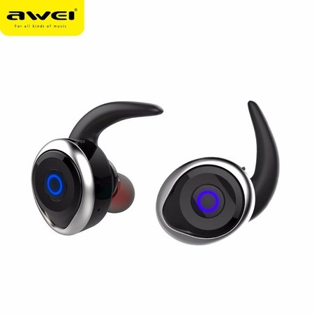 AWEI AWEI T1 Mini True Bluetooth In-ear Oordopjes - Zilver