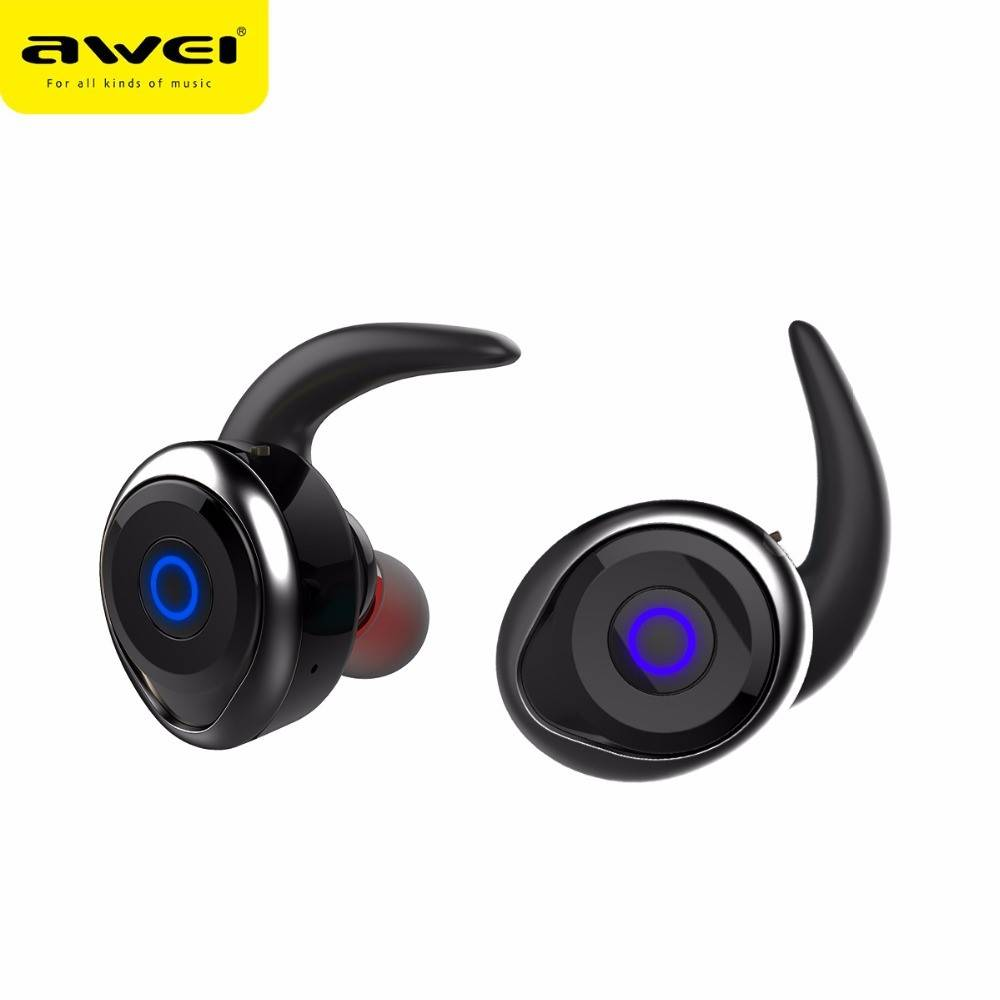 AWEI AWEI T1 Mini True Bluetooth In-ear Oordopjes - Zwart