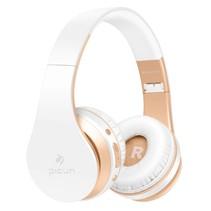 P16 Mega Bass Bluetooth Koptelefoon - Goud + Wit
