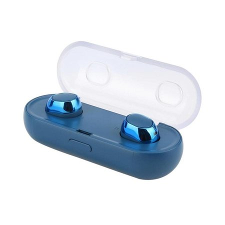 TWS16 Bluetooth 4.2 In-ear Oortjes met Oplaadstation - Blauw