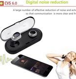 TWS16 Bluetooth 4.2 In-ear Oortjes met Oplaadstation
