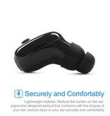 Bluetooth V4.2 In-ear Waterproof Oordopje met ANC - Zwart