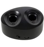 TWS-K2 Twin Bluetooth 4.1 In-ear Headset met Oplaadstation