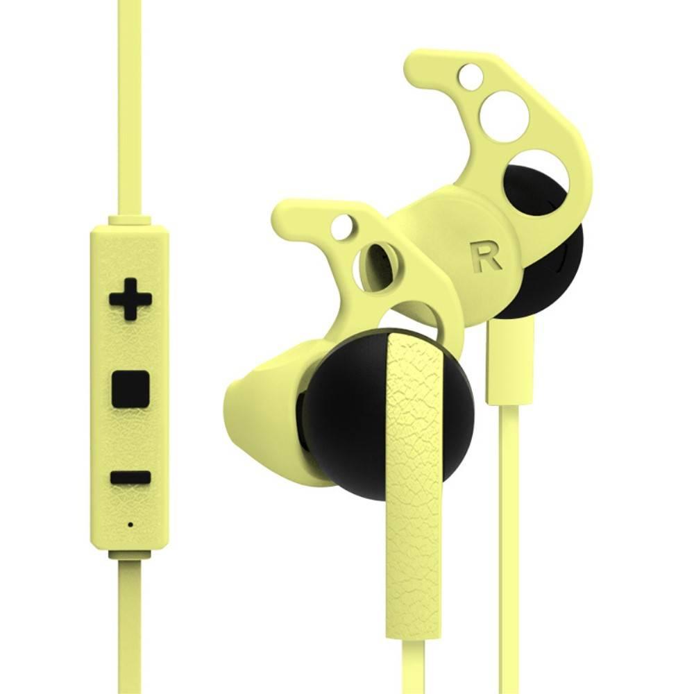 MEZONE MEZONE SP05 CSR Bluetooth Sport Earbuds - Geel