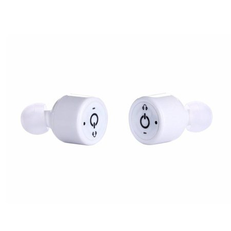 X1T Binaural Bluetooth In-ear Sport Oordopjes - Wit