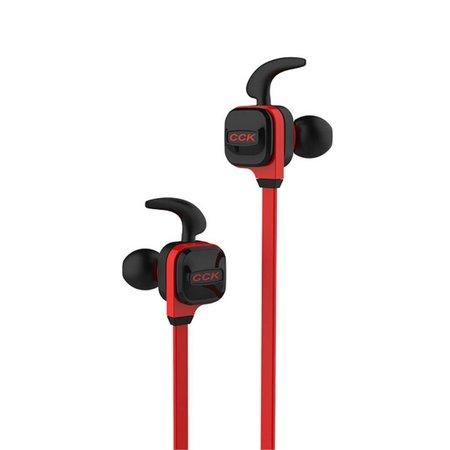 CCK-KS Line-in Control Bluetooth 4.1 Sport Oortjes - Rood