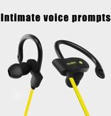 Bluetooth V4.1 Headphones met Oorhaak (BTH-H5) - Groen