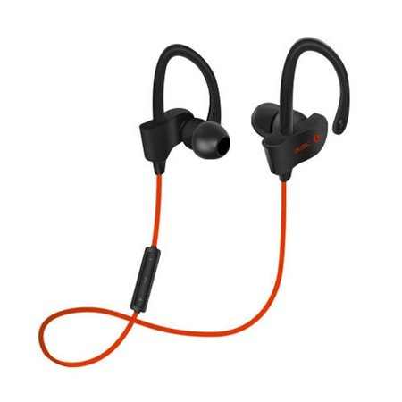 Bluetooth V4.1 Headphones met Oorhaak (BTH-H5) - Rood