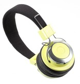 MEZONE MEZONE HF720 Bluetooth Koptelefoon - Geel