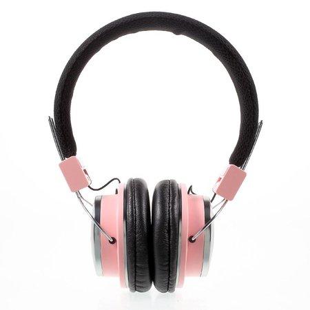 MEZONE MEZONE HF720 Bluetooth Koptelefoon - Roze