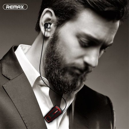 REMAX REMAX T12 Bluetooth Handsfree Headset met Kraagklip