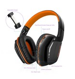 KOTION KOTION B3506 Bluetooth V4.1 Gaming Koptelefoon - Oranje
