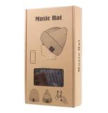 Gebreide Muts met Built-in Bluetooth Oordopjes en Microfoon