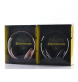 JKR-218B Ultra Bass Bluetooth 4.0 Koptelefoon - Zwart