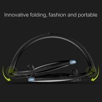 H1 Sport Bluetooth Nekband In-ear Headset - Zwart