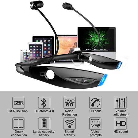 ZEALOT ZEALOT H1 Sport Bluetooth Nekband In-ear Headset - Zwart