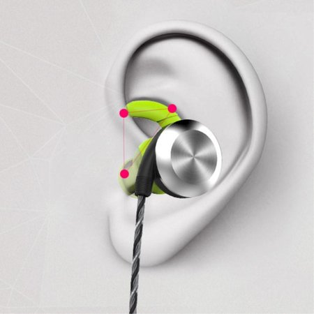 MIFO MIFO U2 Bluetooth 4.1 Sport Headset Zweetproof In-ear Oordopjes